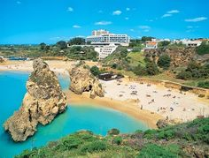 Praia dos 3 Irmaos in Alvor, a beautifull tinny beach in Alvor, Algarve. YouDrive Algarve - Google+ http://www.you-drive.cc
