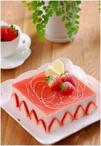 Unveiled Strawberry Cake recipe very delicious - Vietnamese Foods