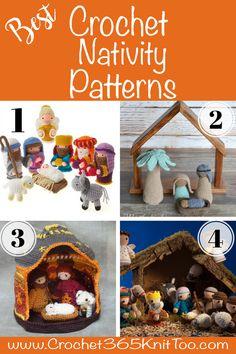 Crochet Tutorial Ideas I love these crochet nativity patterns! Christmas Crochet Patterns, Holiday Crochet, Crochet Gifts, Diy Crochet, Crochet Dolls, Love Crochet, Crochet Skull, Christmas Knitting, Christmas Nativity
