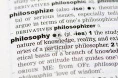 Philosophy Major