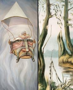 WOW, some incredible optical illusion art! Optical Illusion Paintings, Optical Illusions Pictures, Illusion Pictures, Illusion Drawings, Art Optical, Illusion Art, Art And Illustration, Perceptual Illusions, Horror