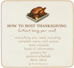 Hosting Thanksgiving On Pinterest Thanksgiving