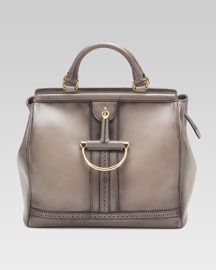 Gucci Duilio Top-Handle Horsebit Bag $2800 2800.00