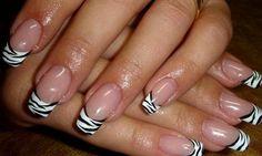Дизайн ногтей иглой