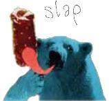 ice bear eating icecream Icecream, Polar Bear, Illustration, Painting, Animals, Fictional Characters, Art, Atelier, Children
