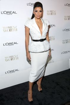 EVA LONGORIA WEARS RALPH & RUSSO COUTURE TO L'OREAL WOMEN OF WORTH http://www.lamodecnous.com/2014/12/05/eva-longoria-wears-ralph-russo-couture/