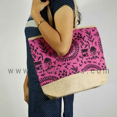 One-stop solution to all the fashion needs of women. Get the latest trends with Big Offers. Online shopping site for women's accessories and apparels. Jute Bags Manufacturers, Fashion Hub, Online Shopping Sites, Womens Fashion Online, Drawstring Backpack, Gym Bag, Latest Trends, Pink, Drawstring Backpack Tutorial