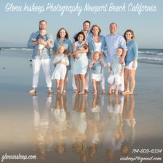#holiday #portrait #photographer #newportbeach #studio footsteps from the #pier