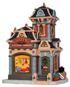 Kate's Kitchen Corner - Lemax Caddington Village 2014
