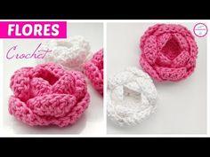 Flor a crchet Crochet Squares, Crochet Motif, Crochet Shawl, Easy Crochet, Crochet Lace, Crochet Butterfly, Crochet Flowers, Loom Knitting Patterns, Crochet Patterns