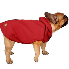 Jelly Wellies Premium Quality Waterproof Reflective Deluxe Raincoat with Polar Fleece Lining for Dogs *** Don't get left behind, see this great dog product : Dog coats