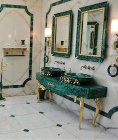 Luxus Badezimmer Dekor Baldi Home Jewels Firenze 1867 - Amaltea . Salon Interior Design, Modern Interior, Lobby Interior, Classic Interior, Modern Luxury, Modern Decor, Bathroom Design Luxury, Dream Bathrooms, Luxury Bathrooms