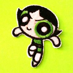Powerpuff Girls Patch - More Styles! - Pink Skull