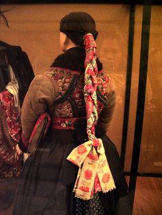 Traditional dress museum Budapest, Hungary.