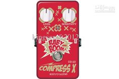 Electric Guitar Effect Pedal, Biyang Co10 Compressor Effect Pedal ...