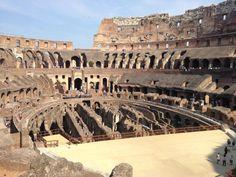 Coliseo romano.#viajarenfamilia