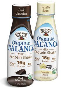 FREE Bottle of Organic Valley Organic Balance Milk Protein Shake on http://hunt4freebies.com