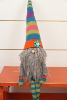 Scandinavian gnome Nordic gnome nordic nisse by thelittlegreenbean