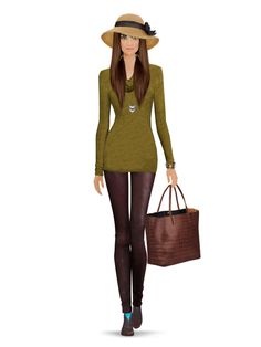 Styled with: Happy Socks, United Nude, Dl1961, Three Dots, Joie, Dannijo, Rebecca Minkoff, Eric Javits   Create your own look with Covet Fashion