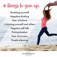 Things to give up