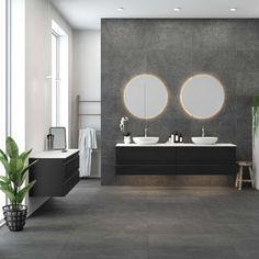 Badmiljö från Dansani - Få inspiration till ert personliga b Bathroom Store, Loft Bathroom, Bathroom Ideas, Small Bathroom Interior, Bathroom Furniture, Grey Kitchens, Luxury Bath, Shower Enclosure, Wet Rooms