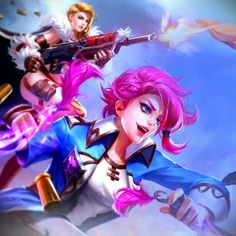 "Paladins Brasil on Twitter: ""Arte da Tyra & Maeve by Paladins China (Tencent) … """