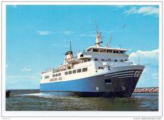 Ferries - SCHIFFE - FÄHREN / Ferry - Langeland - Kiel
