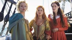 Jamestown (Credit: Credit: Sky)As the first women to arrive in the male-dominated Jamestown, Virginia, they quickly realise they will need all their wit and ambition if they are to survive the inhospitable wilderness and a host of dangerous challenges in the New World. Premieres 5 May on Sky 1 (Credit: Sky)  Loaded (Credit: Credit: Channel 4/AMC)