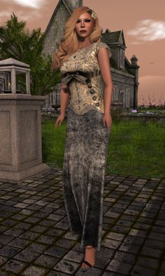 Heimo SL Blog post All that jazz with fashion, gifts, jazz club, pose, events, gacha. http://heimoslblog.blogspot.fi/2016/07/all-that-jazz.html #SLfashion #SecondLife