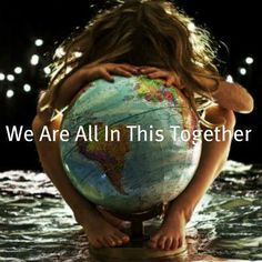 """#savetheplanet  (...""""I so wish I could imprint this on everyone's minds-- & hearts!...pondering 'blurb' by Lori Belvail)"""
