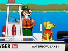 Bobber the Water Safety Dog - Sinker has a Fit