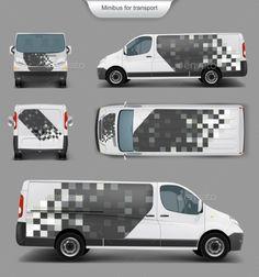 White Minivan Front, Back, Side View Minivan, Small Houses On Wheels, House On Wheels, Van Signage, Vehicle Signage, Van Wrap, Van Design, Vw Crafter, Soccer World