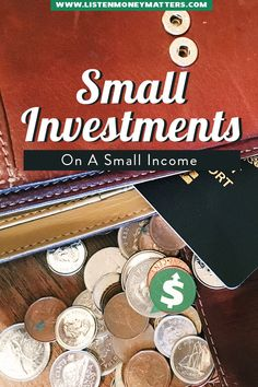 Even starting to invest small amounts on a small income, builds the habit of saving and building wealth. Start small and then grow. Build your good habits and build your wealth and your life. Financial Literacy, Financial Goals, Financial Planning, Money Tips, Money Saving Tips, Investing Money, Home Based Business, Business Ideas, Money Matters