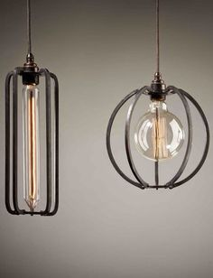 De draadlamp als industriële hanglamp