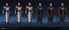 Sci-fi Templar - Character design, Gloria Ocete