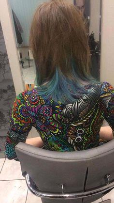 Wykonanie: Ewelina. www.fryzjer.lublin.pl #Elumen #Goldwell #hair #hairstyle #haircut #dyed #color #woman #włosy #fryzjer #fryzury #damskie #Lublin #kolorowe