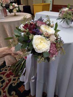 Antique bridal bouquet.