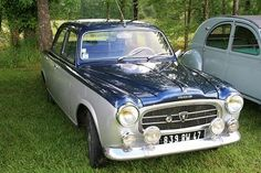 Peugeot 403 #automobile  Designed by pininfarina of Italian sports car fame, the 403 was produced from 1955 to 1966.