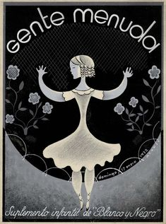 January 1932 cover for Gente Menuda, children's supplement of Spanish magazine Blanco y Negro; cover by Felix Alonso. - 50 Watts