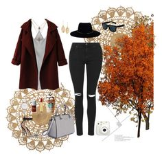 """""""fall looks"""" by hilda-leung on Polyvore featuring H&M, MICHAEL Michael Kors, Isaac Mizrahi, Lulu*s, ASOS Curve, Topshop and Zimmermann"""