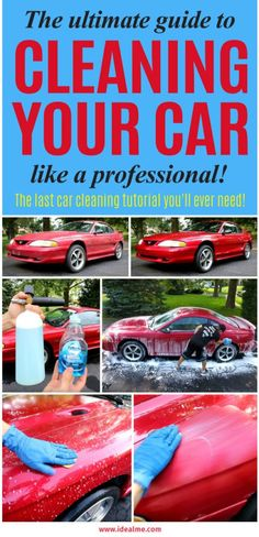 Cardetailing this infographic show how to detail your car step by the ultimate guide to super cleaning your car like a pro ideal me solutioingenieria Images