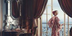 NATALIE PORTMAN Harper's Bazaar August 2015 - Gucci dress, $4,900, gucci.com; Tiffany & Co earrings, $8,000 and ring, $12,000, tiffany.com.