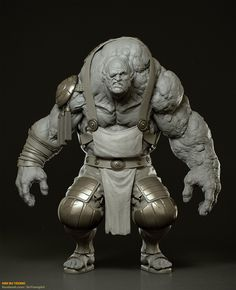https://www.facebook.com/SuYeongArt  https://www.instagram.com/suyeongart   #3D #3Dart #3Dmodeling #ZBrush #Pixologic #Vray #Character #Sculpture #sfx #spfx #giant #hunchback #blacksmith