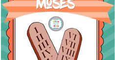 Moses and the 10 Commandments 10 Commandments Craft, Preschool Bible, Church Crafts, Old Testament, Sunday School, Acting, Law, Religion, Old Things