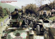 Csaba Armoured Cars.