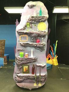 "Ariel's Grotto for Disney ""Little Mermaid Jr."" Made by Dale Elisha at Saint Stephen's Episcopal School in Bradenton, FL"