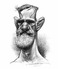 (3) Jan Op De Beeck - Conor McGregor, Procreate on iPadPro.