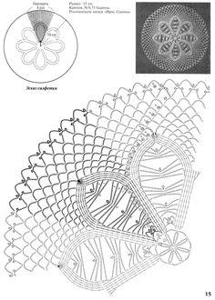 "Photo from album ""тРукоделие"" on Yandex. Crochet Doily Diagram, Crochet Pillow Pattern, Crochet Doily Patterns, Crochet Mandala, Thread Crochet, Crochet Motif, Crochet Doilies, Crochet Coaster, Doily Art"