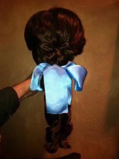Belle Custom Wig Replica Villager Wig Disney's Beauty The Beast on Broadway   eBay