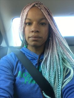 Mermaid Box Braids